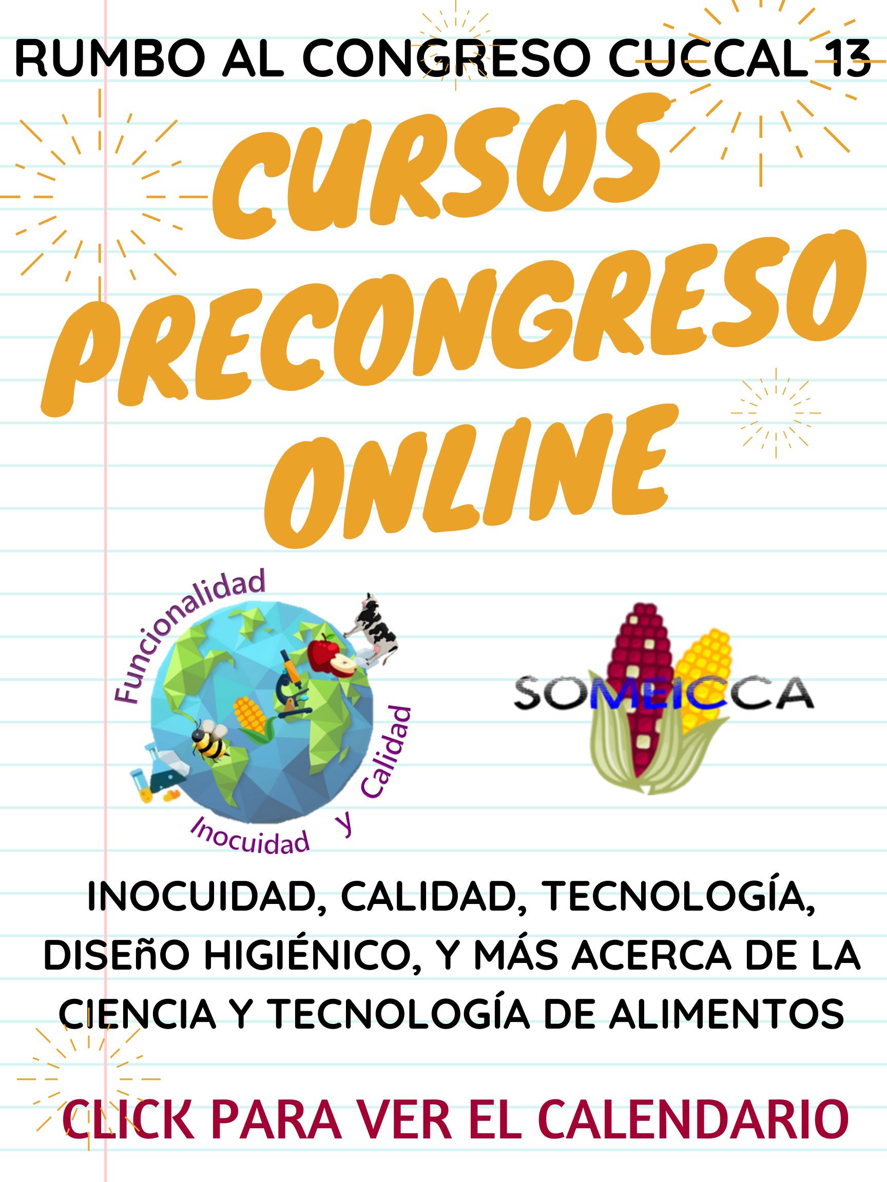 Poster pag web cursos precongreso 2020